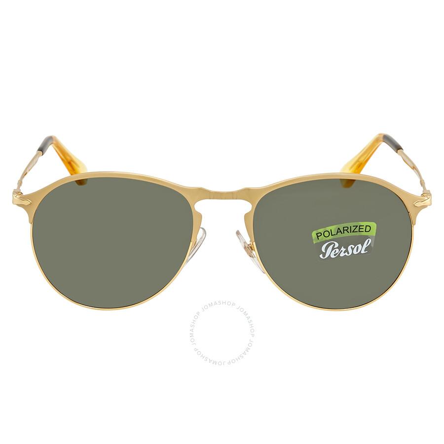 a2e7aa1fd28 Persol Polarized Green Sunglasses PO7649S 106958 53 Persol Polarized Green  Sunglasses PO7649S 106958 53 ...