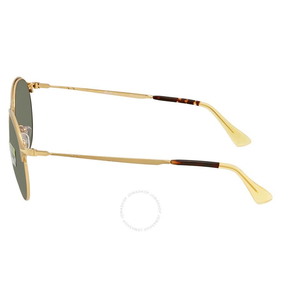 56a09486be Persol Polarized Green Sunglasses PO7649S 106958 53 - Persol ...
