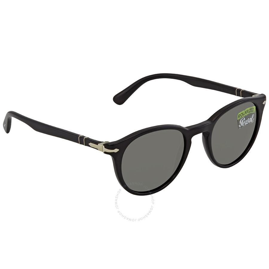 Persol Polarized Grey Round Sunglasses PO3152S 901458 49 - Persol ... f73250ffaa