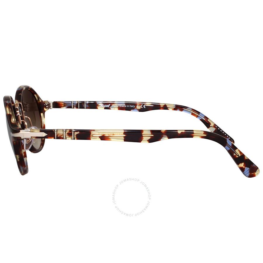 7268a8df6f1b1 Persol Round Brown Gradient Sunglasses - Persol - Sunglasses - Jomashop