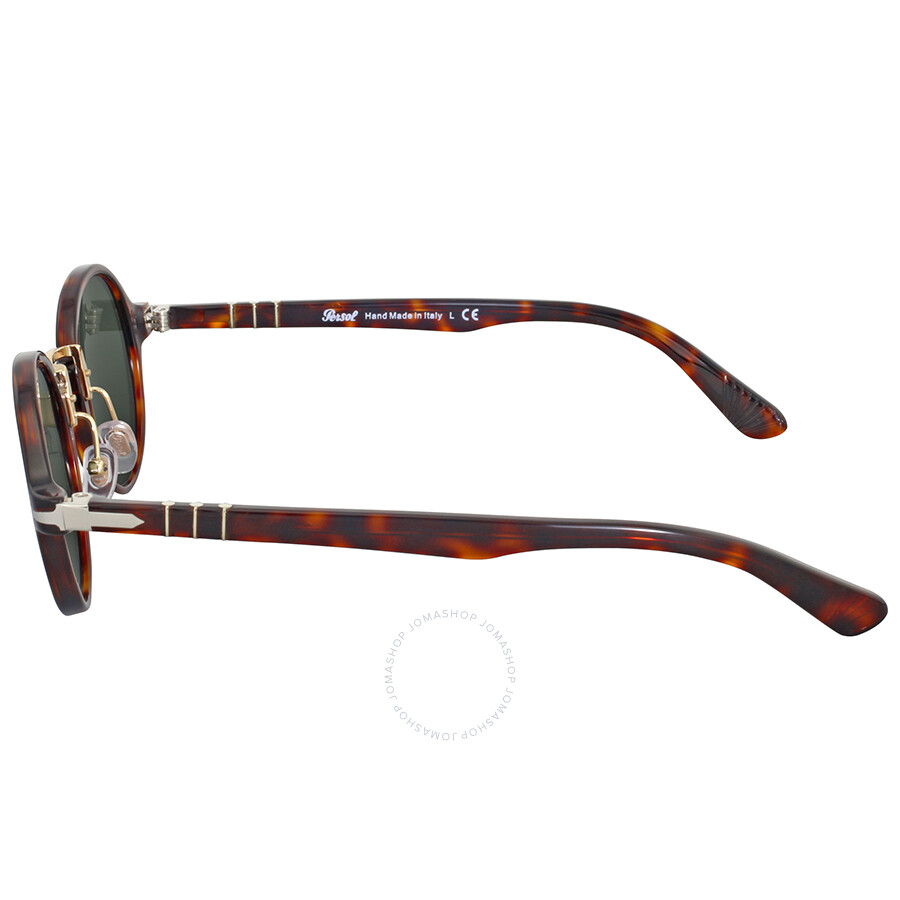 82d753237a Persol Round Havana Sunglasses - Persol - Sunglasses - Jomashop
