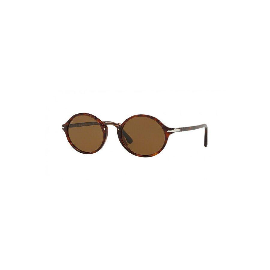 7f4c14e0ca Persol.    Persol Typewriter Edition Polarized Brown Round Sunglasses .