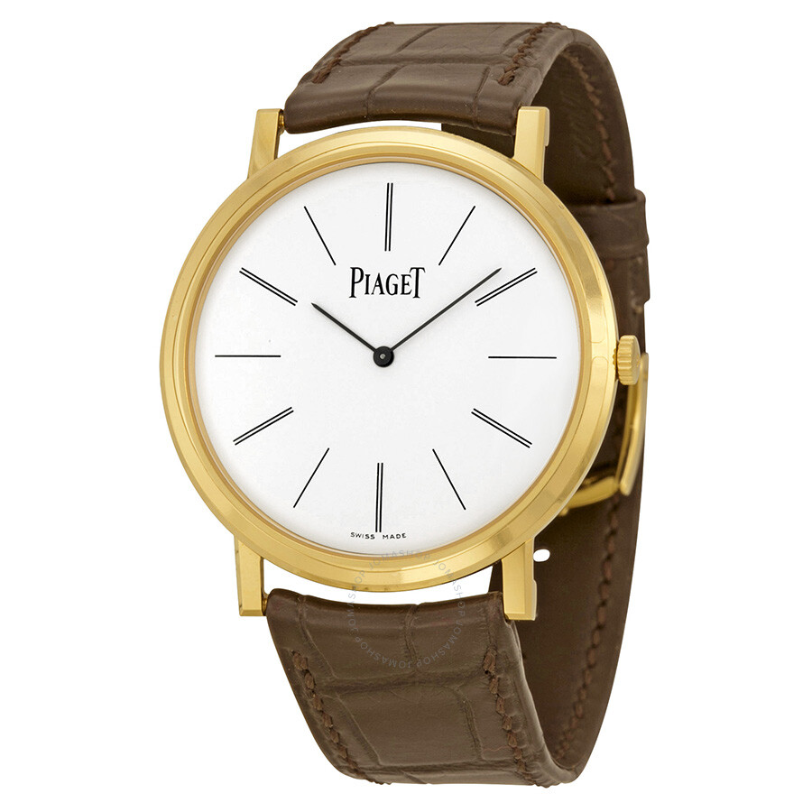 Piaget altiplano mechanical white dial men 39 s watch g0a29120 altiplano piaget watches for Altiplano watches