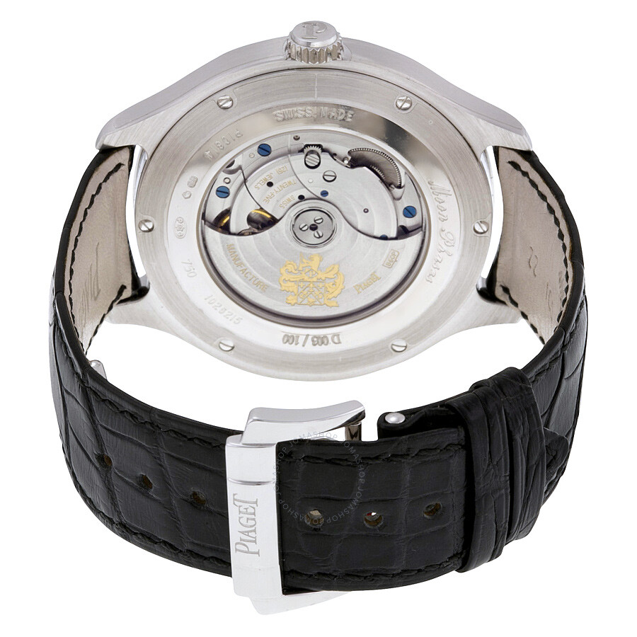 3b95daa5d9b ... Piaget Emperador Cushion-Shaped Moon Phase Automatic 18kt White Gold Men s  Watch GOA34021