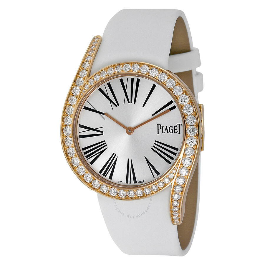 fc071cbe098 Piaget Limelight Gala 18Kt Rose Gold Diamond Silver Dial Ladies Watch  GOA39167 Item No. G0A39167