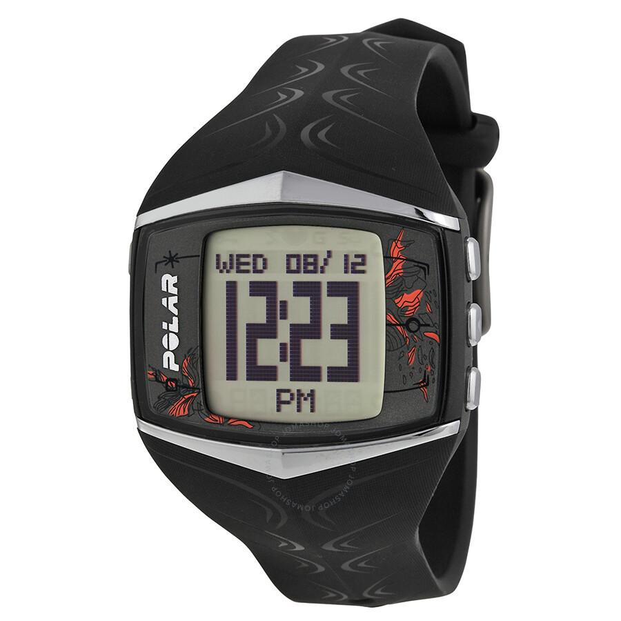 Polar Black Training Computer Ladies Digital Watch FT60F ...