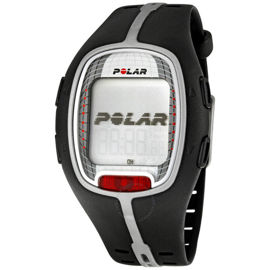 polar rs300x sd black heart rate monitor with s1 foot pod 90036623 polar watches jomashop