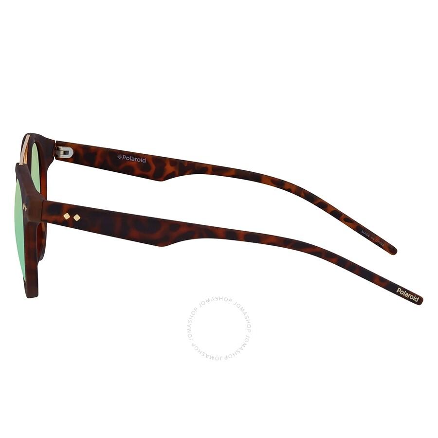 6eb834802 ... Polaroid Gray Green Round Polarized Sunglasses PLD6031S0N9P49