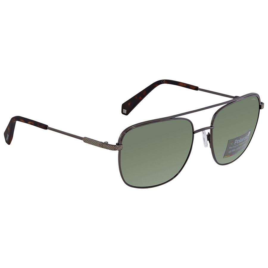 814e89a9880e Polaroid Green Polarized Sunglasses PLD2056S0KJ158 - Polaroid ...