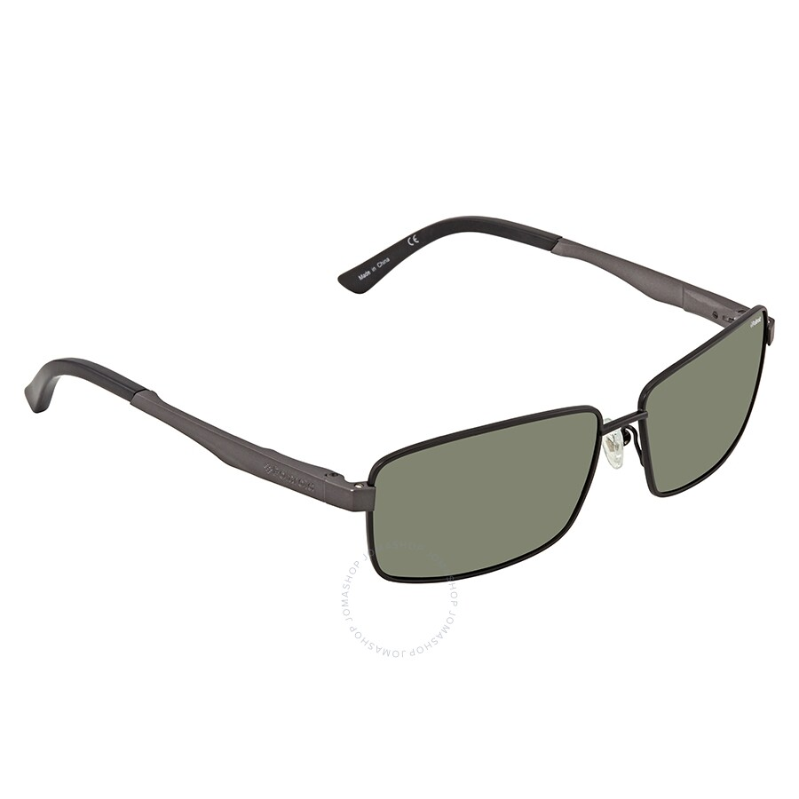 5a461a20cf Polaroid Polarized Green Rectangular Sunglasses X4407 0CF 59 ...