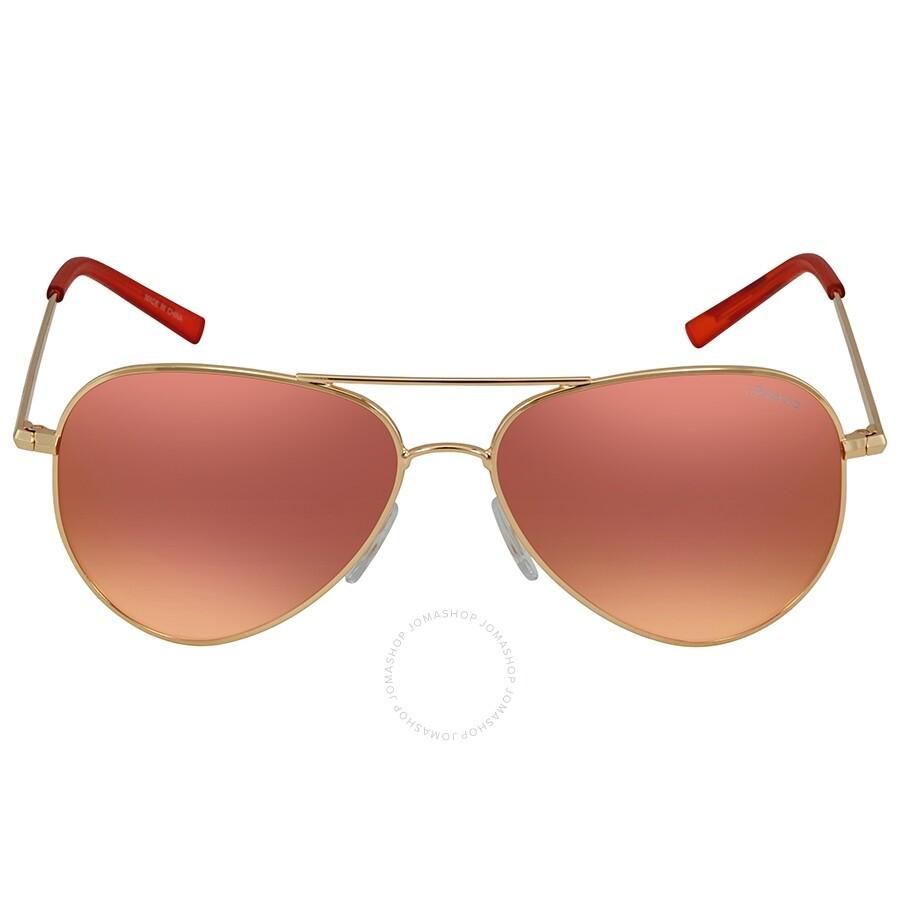 7d15a8b61 ... Polaroid Polarized Red Mirror Aviator Sunglasses PLD 6012/N J5G 56 ...