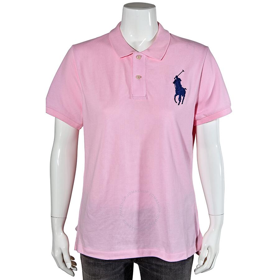 Medium Polo Blue Cologne Ralph Lauren Embroidered Big Pony Shirt Custom Fit