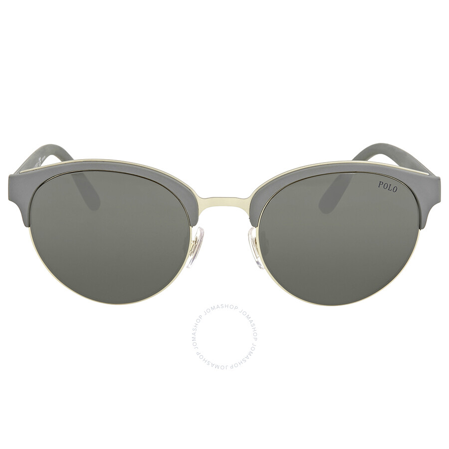 3ef9dccab0 Polo Ralph Lauren Silver Mirror Sunglasses Item No. PH4127 56426G 51