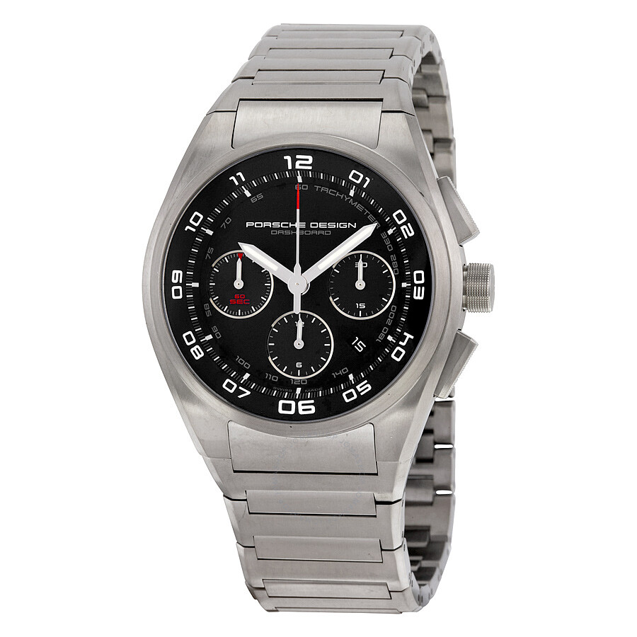 921d6f4d3b6 Porsche Design P 6620 Automatic Chronograph Dashboard Black Dial Titanium  Men s Watch 662011460268 Item No. 6620.11.46.0268