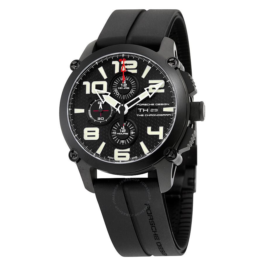 porsche design p 6930 chronograph automatic black