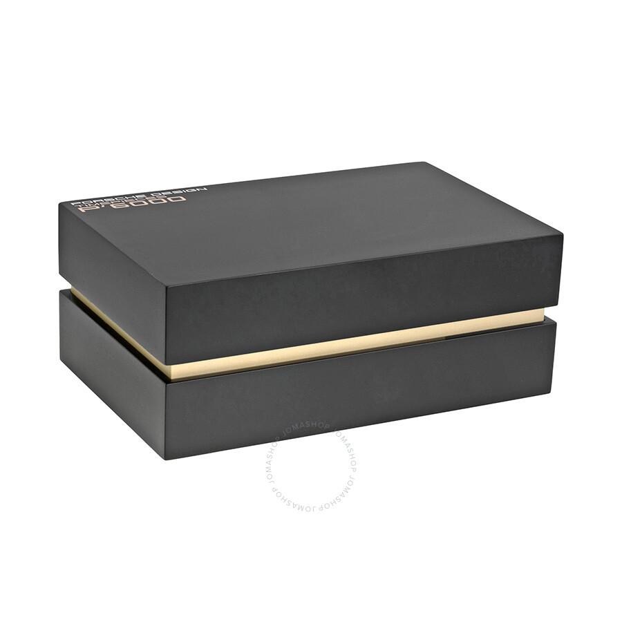 Porsche Design P6930 Chronograph Automatic Black Dial Black Rubber