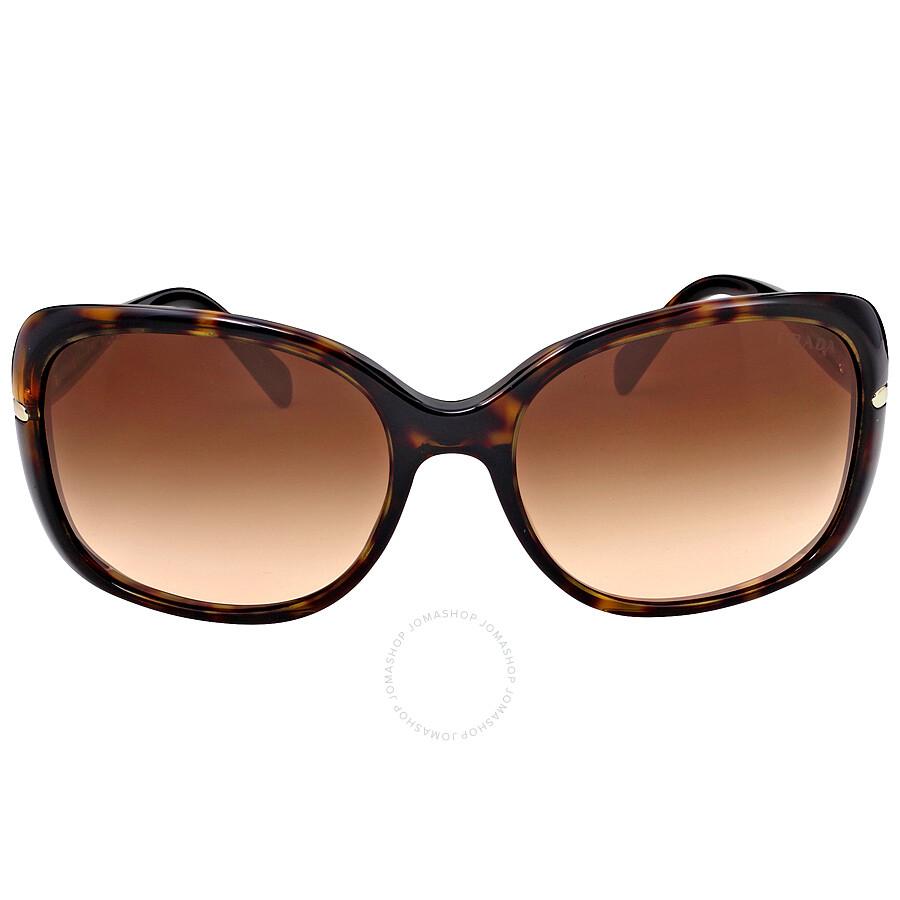 7fb0ed1cc2 Prada 57mm Tortoise Rectangular Sunglasses PR 08OS-2AU6S1-57 - Prada ...