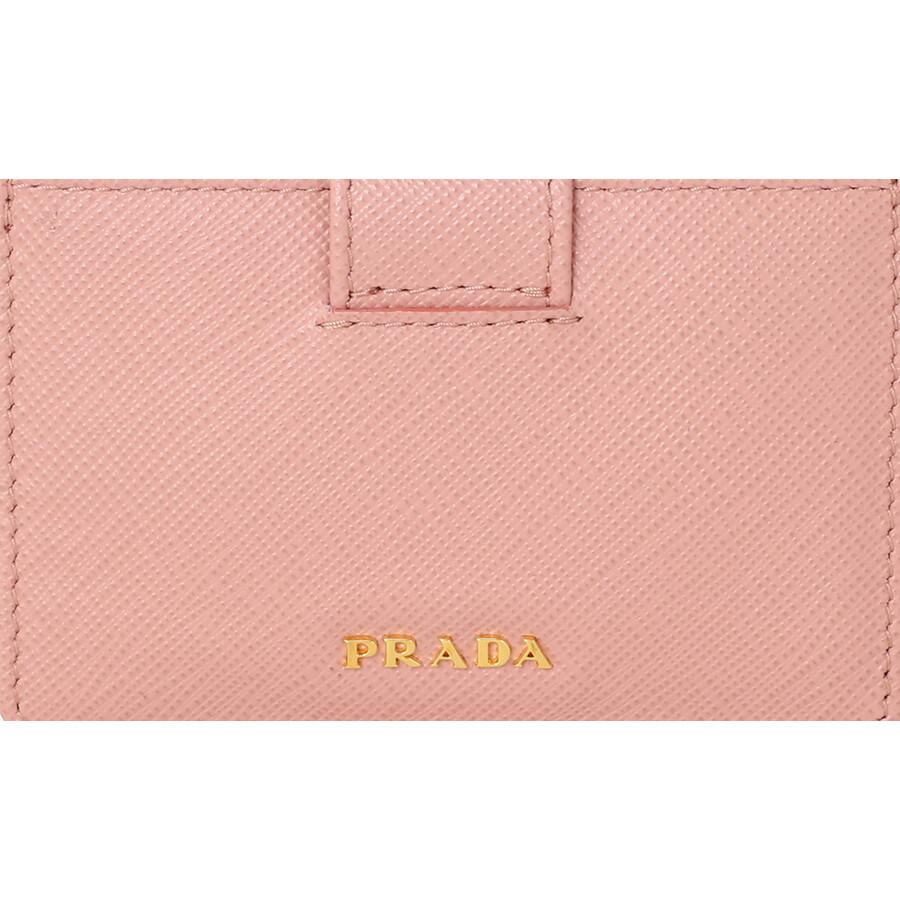 866747b8866a Prada Accordion Saffiano Leather Card Case - Orchidea - Prada ...