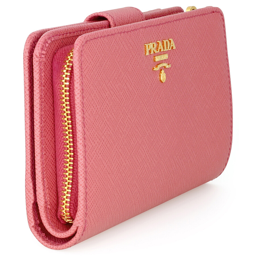 Prada Wallet With Zipper