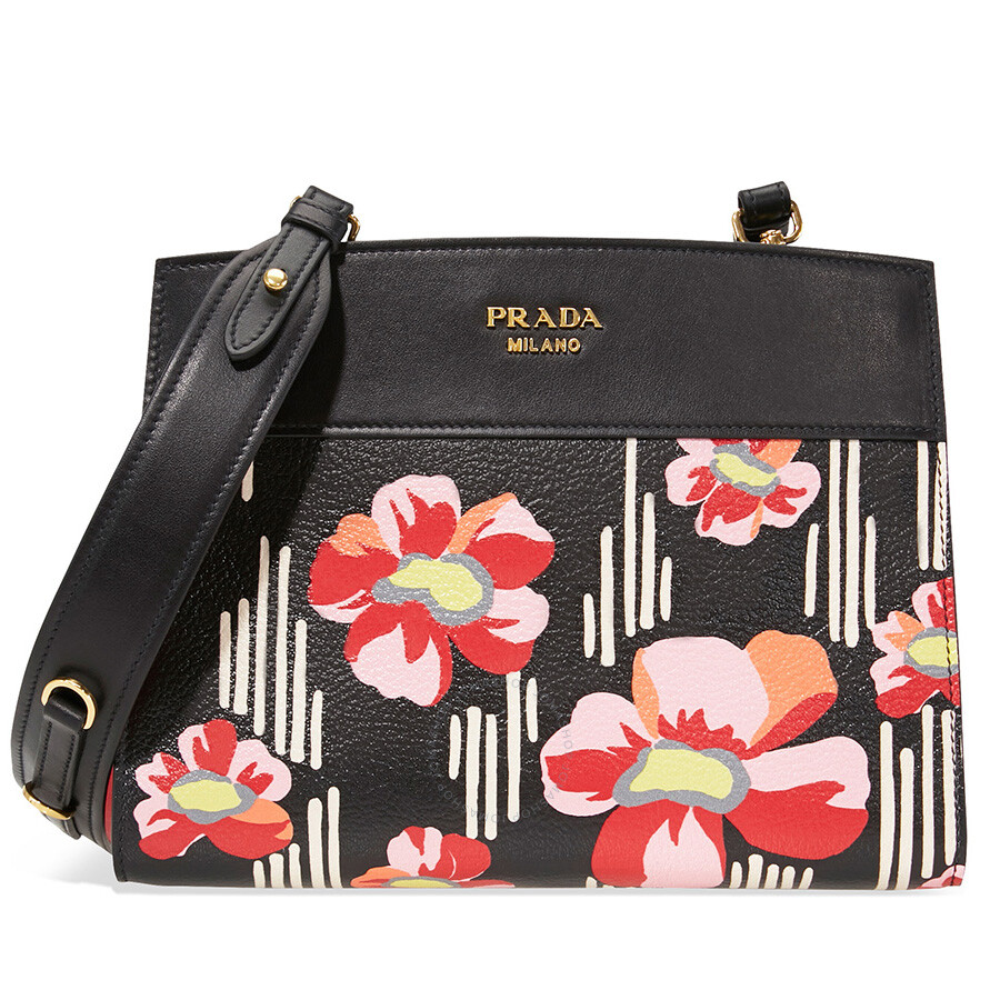 88fb5d8494 Prada Bibliotheque Leather Clutch - Bibliotheque - Prada - Handbags ...