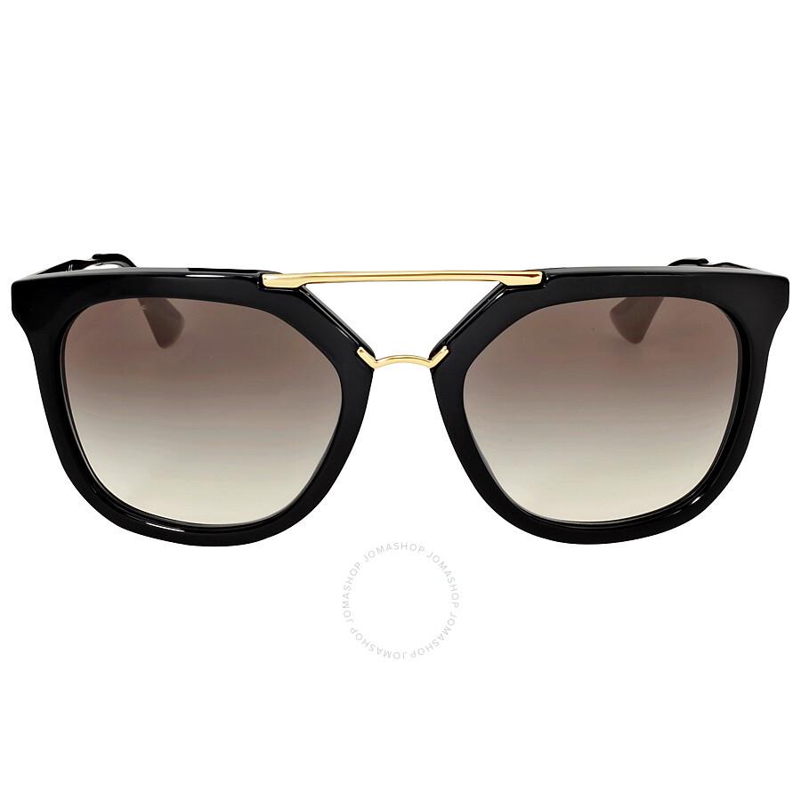10129468d5 Prada Black Catwalk Cinema 49 mm Sunglasses 0PR 09QS-1AB0A7-49 ...
