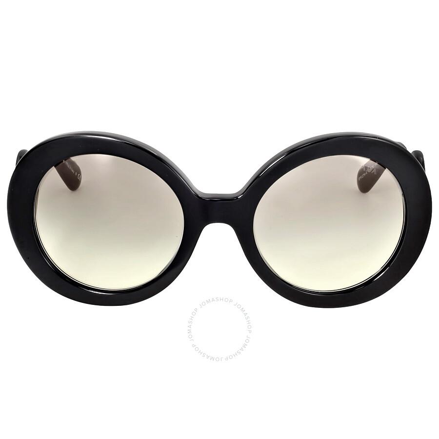 0a634835ebcc Prada Black Minimal Baroque Sunglasses 0PR 27NSA-1AB3M1-55 - Prada ...