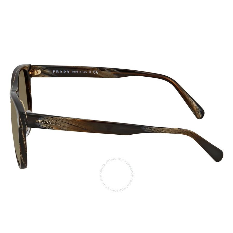 8b4ac36fd36 Prada Brown Gradient Square Sunglasses PR 09US C9O1X1 55 - Prada ...