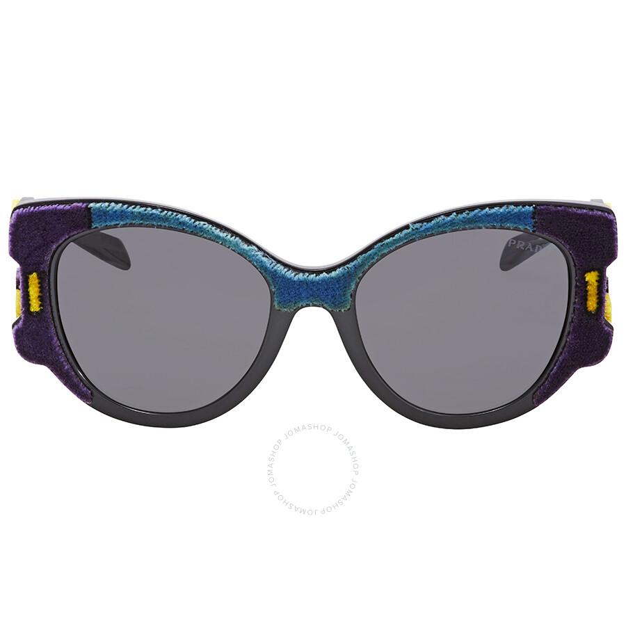 51c0d493cb2f0 Prada Butterfly Sunglasses PR 10US N5B5S0 54 - Prada - Sunglasses ...