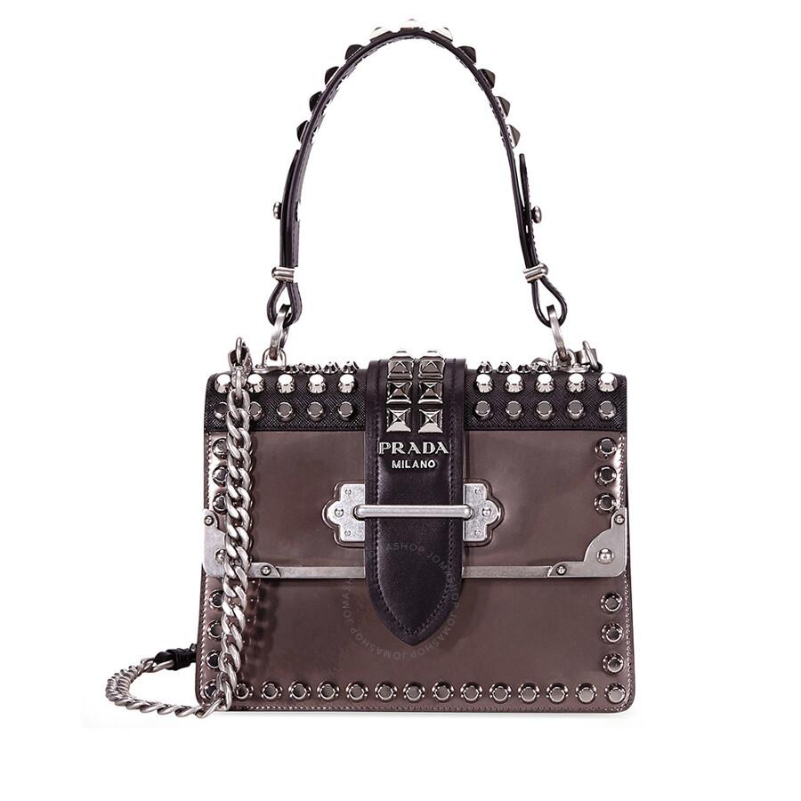 23d6d9da49fd Prada Cahier Studded Leather Crossbody Bag Item No. 1BA185_F0G22_c_V_CNH