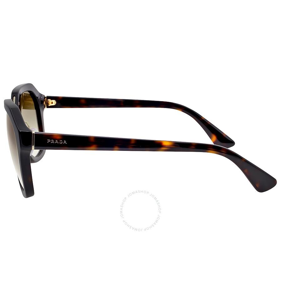 c8bcb8c6b5 Prada Catwalk Tortoise Sunglasses PR 25RS-2AU4M1-55 - Prada ...