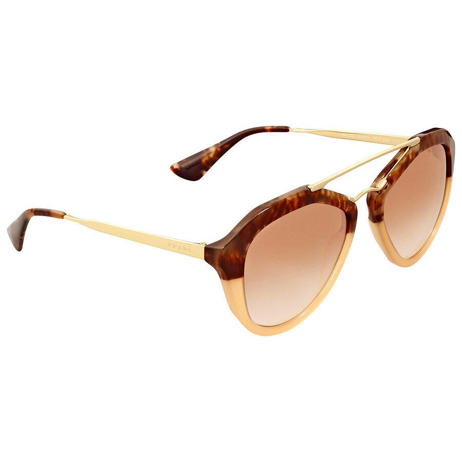 ce3c5cf7394f Prada Cinema Brown Havana Gradient Sunglasses Prada Cinema Brown Havana  Gradient Sunglasses ...