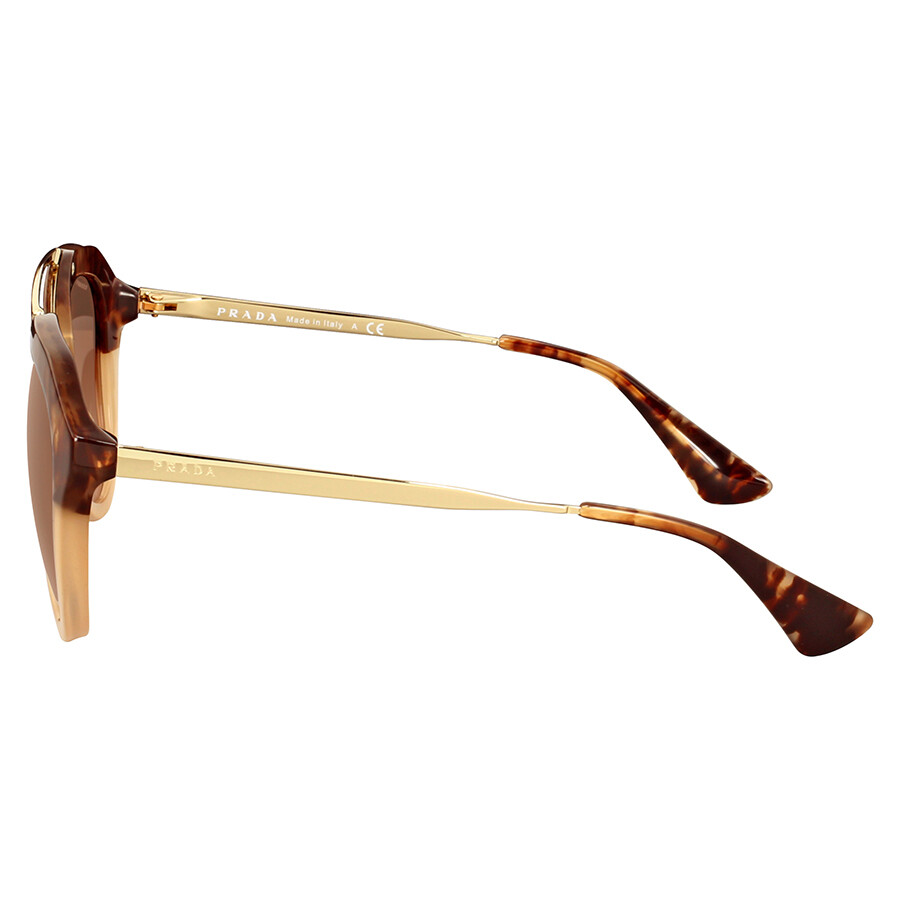 9d2af2d9d0ef Prada Cinema Brown Havana Gradient Sunglasses - Prada - Sunglasses ...