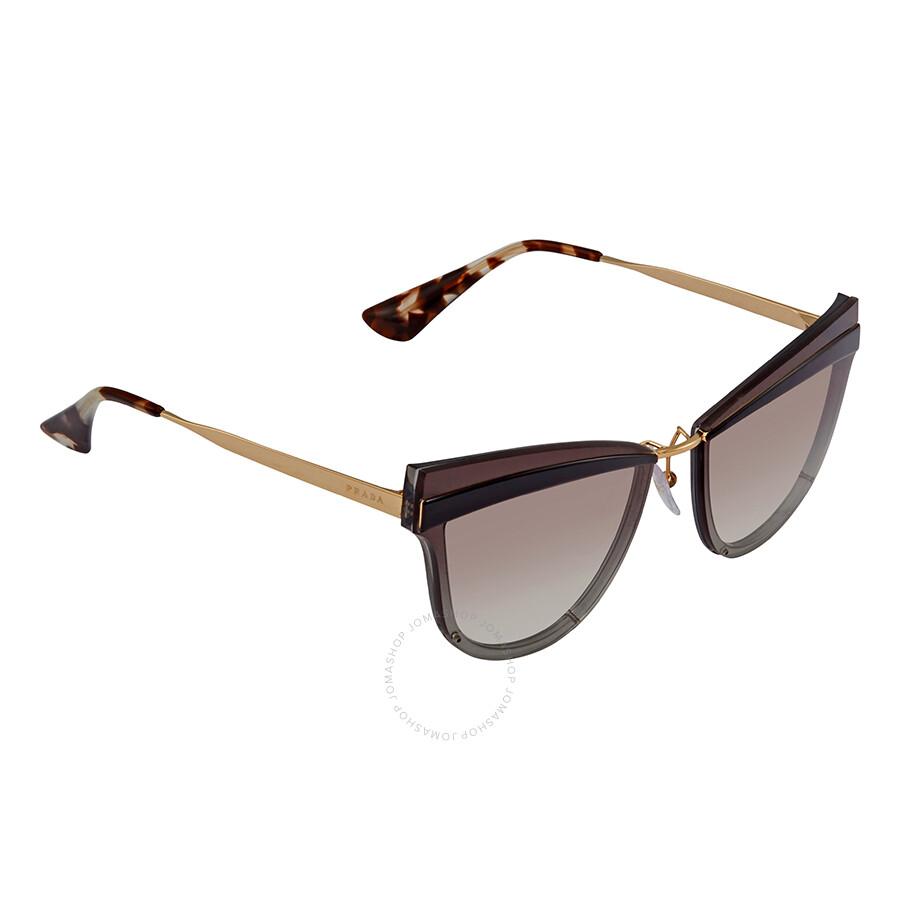 043a5ade791 Prada Cinema Grey Gradient Cat Eye Sunglasses PR 12US KUI0A7 65 ...