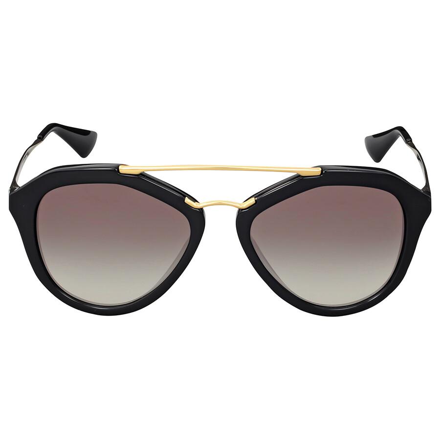 a22d5d2726 Prada Cinema Grey Gradient Round Sunglasses Item No. PR-12QS-1AB 0A7-54