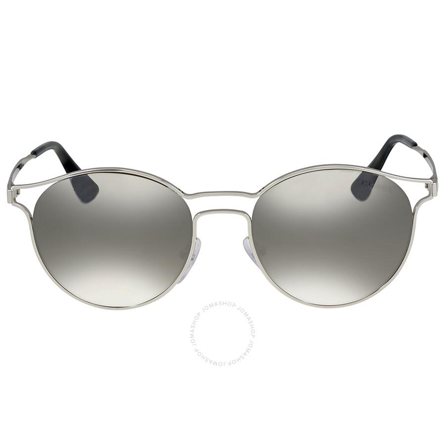7d51ad5063d Prada Cinema Grey Mirror Sunglasses - Prada - Sunglasses - Jomashop
