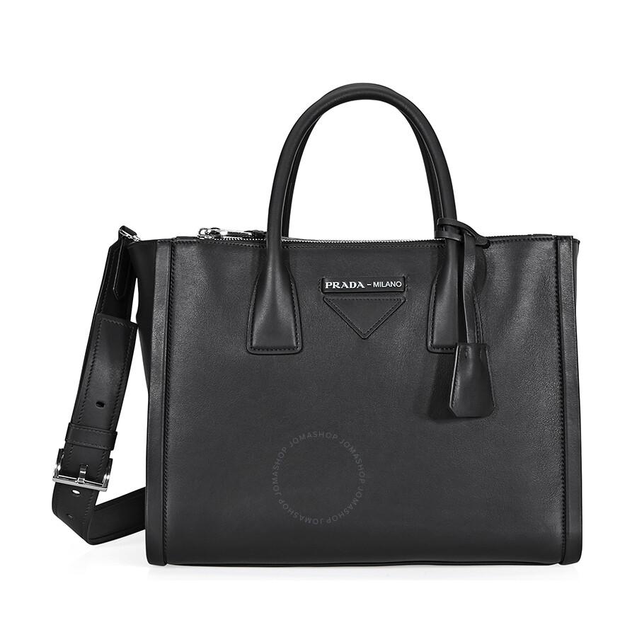 02601a7e1ab0 Prada Concept Medium Leather Crossbody - Black Item No.  1BA183_F0002_2BYA_V_OOO