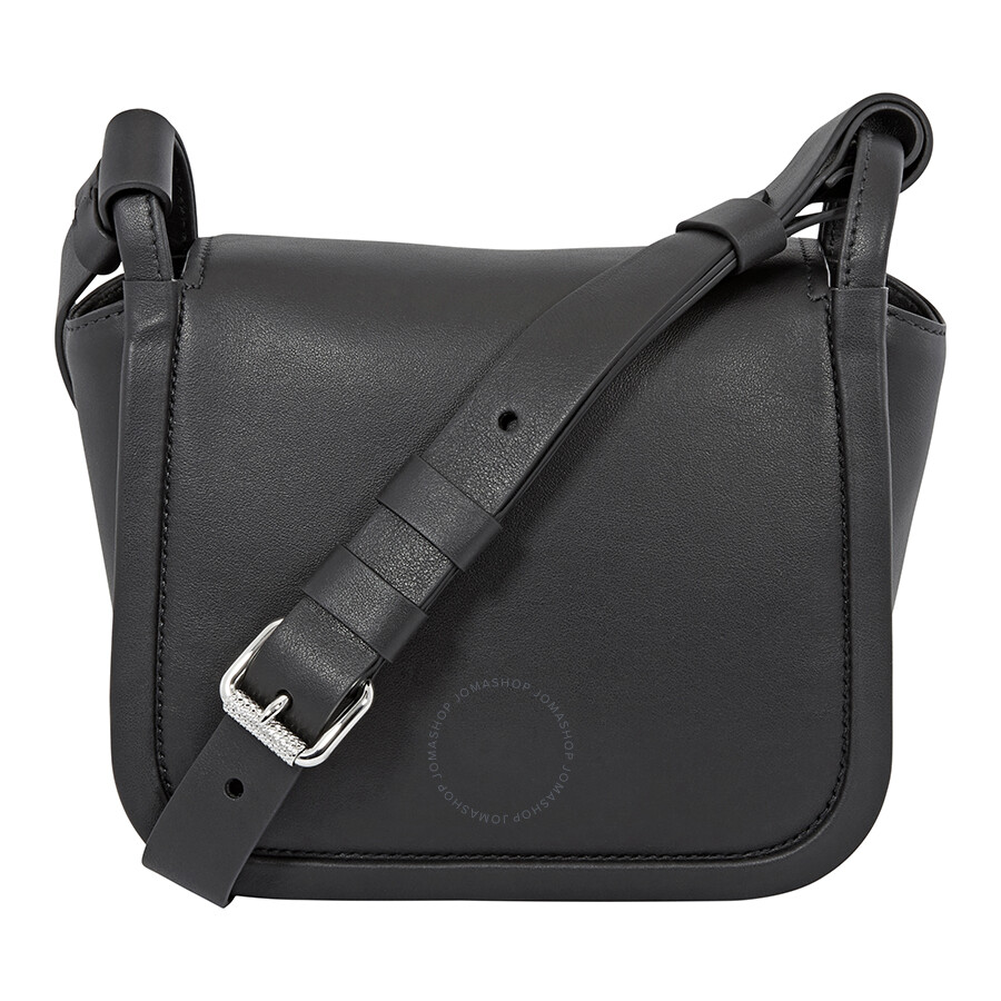440b38c3b5b8 Prada Concept Medium Leather Crossbody- Black - Prada - Handbags ...