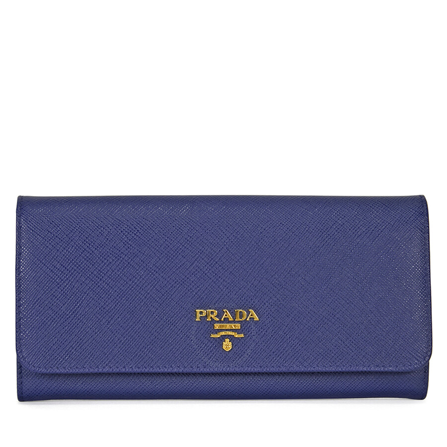 d23eefd6f3abbb ... authentic prada continental saffiano leather wallet bluette 72ed9 9dd11