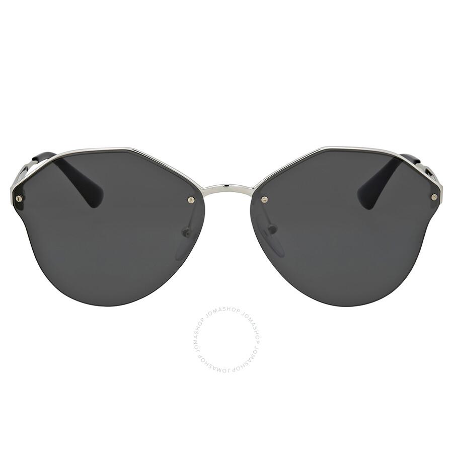 e5d44398ca Prada Dark Grey Metal Sunglasses - Prada - Sunglasses - Jomashop