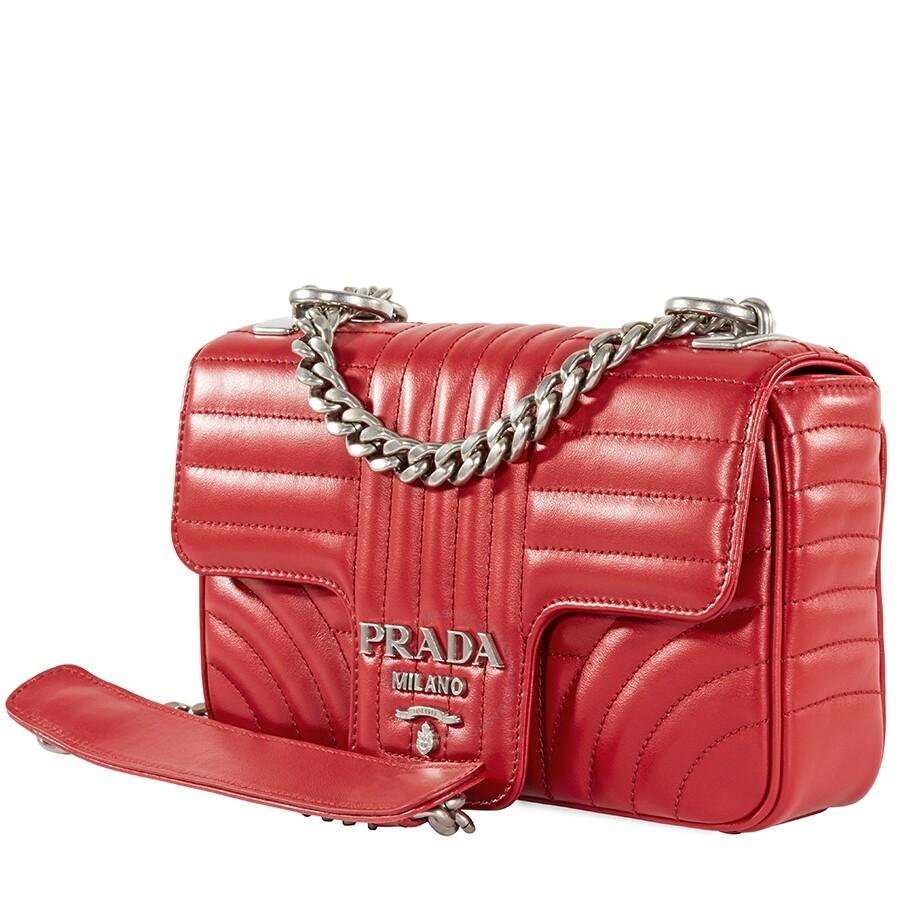 Prada Diagramme leather handbag | Prada