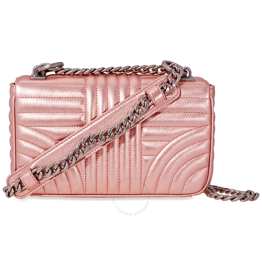 f87b29f985 Prada Diagramme Leather Shoulder-Pink - Prada - Handbags - Jomashop