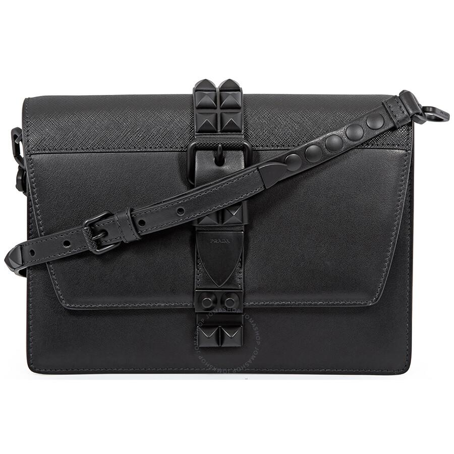 9d7d79523b02 Prada Elektra Medium Crossbody Bag- Black - Elektra - Prada ...