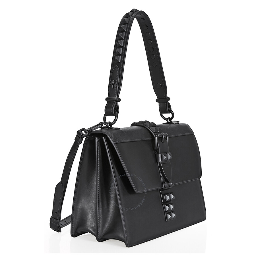 6d192e68e3cd Prada Elektra Studded Leather Shoulder Bag- Black - Prada - Handbags ...