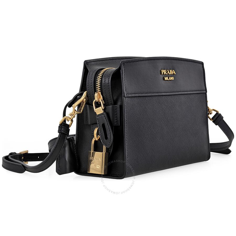 aee6a9d64e4ed Prada Esplanade Shoulder Bag - Black - Esplanade - Prada - Handbags ...