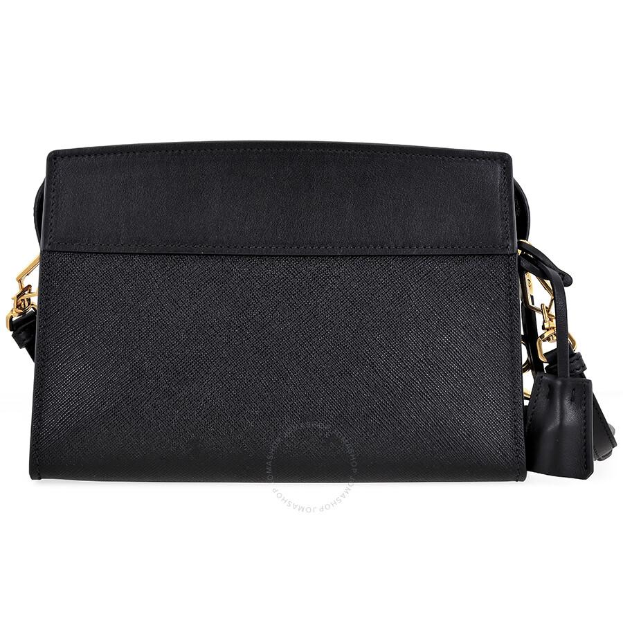 1a1a3bea74 Prada Esplanade Shoulder Bag - Black - Esplanade - Prada - Handbags ...
