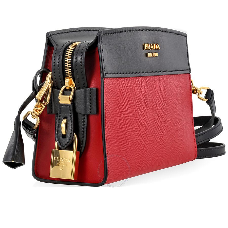 f59ec3b13684 Prada Esplanade Shoulder Bag - Fuoco Nero - Esplanade - Prada ...