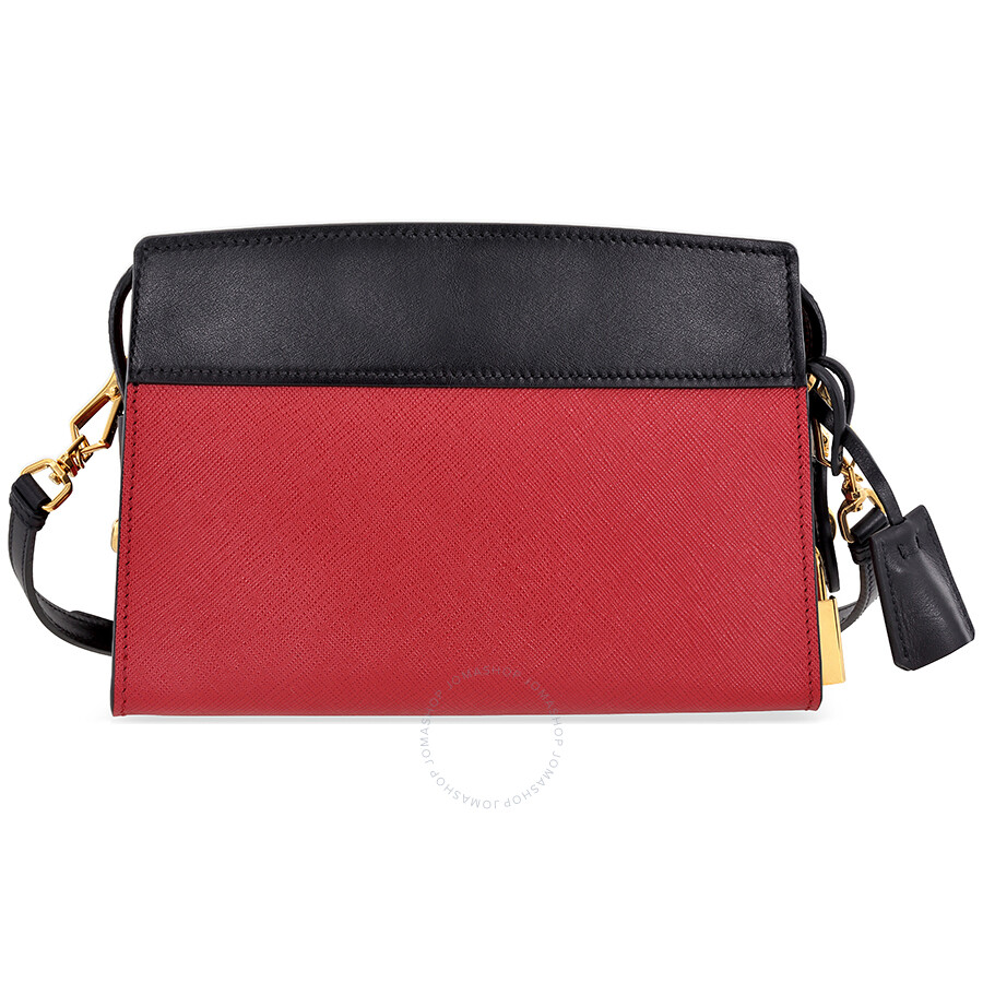 7fc1c8302895a Prada Esplanade Shoulder Bag - Fuoco Nero - Esplanade - Prada ...