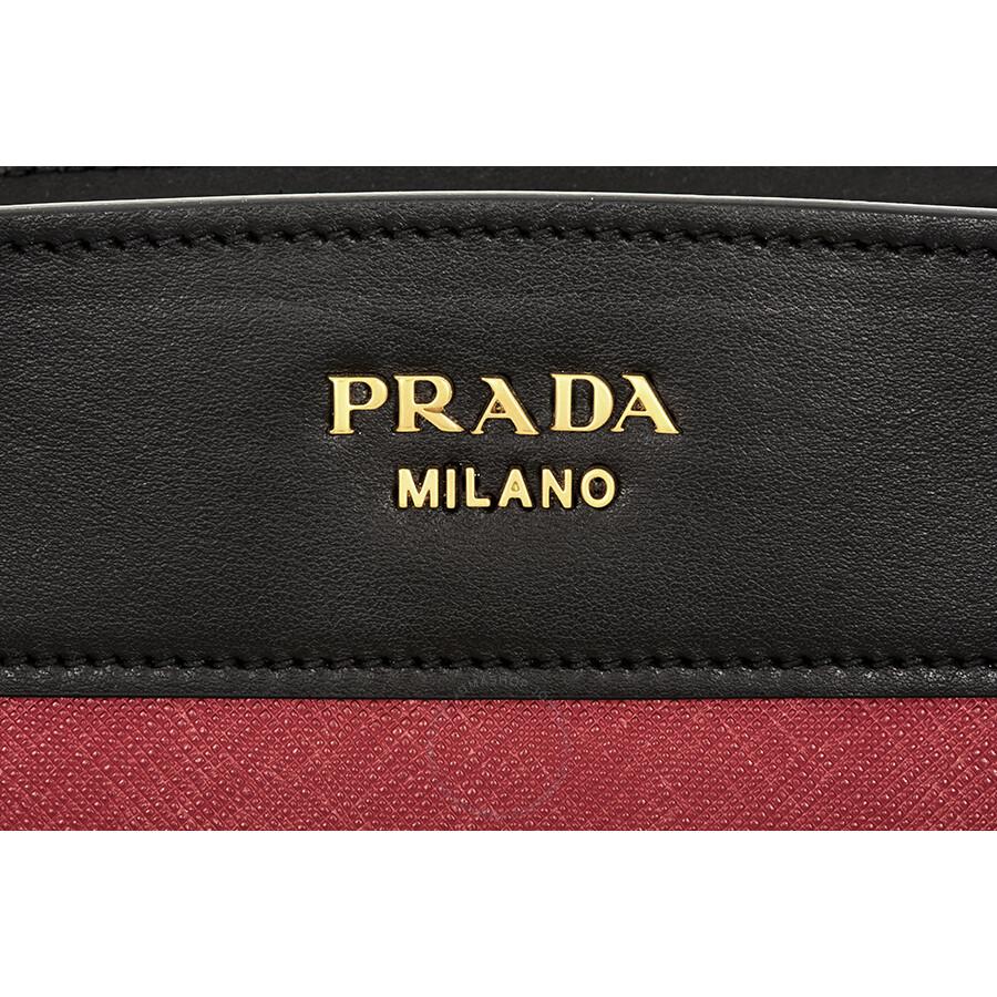 bbdec303d90a Prada Esplanade Shoulder Bag - Fuoco Nero - Esplanade - Prada ...