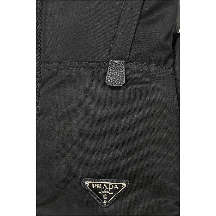 Prada Fabric Backpack- Black - Prada - Handbags - Jomashop 8f9dae5a8a