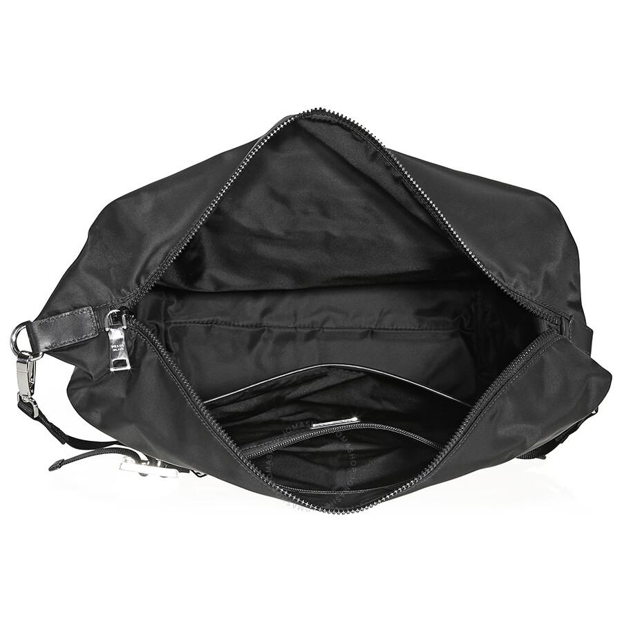 277f610b10d6e Prada Fabric Hobo Bag- Black - Prada - Handbags - Jomashop